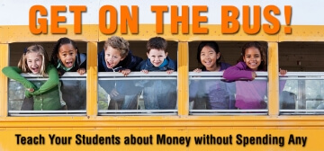 students on school bus