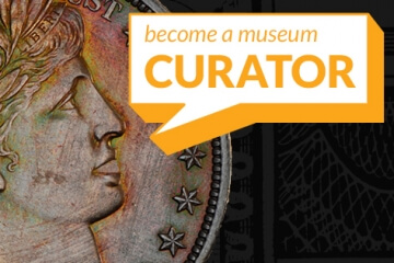 become a museum curator graphic