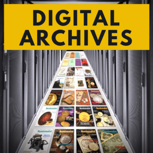 the numismatist digital archives graphic