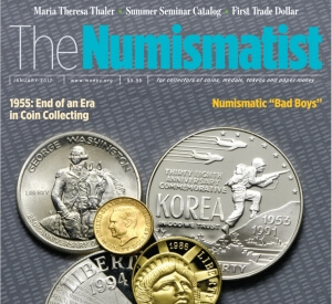 subscribe to the numismatist coin collecting magazine graphic