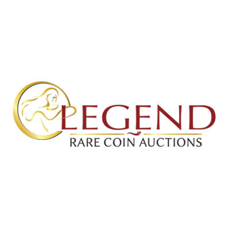 legend rare coin auctions logo