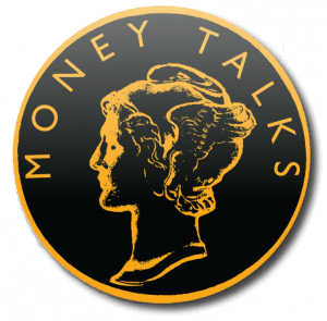 money talks logo drop shadow